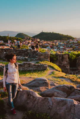 Bulgaria Is Awesome: Plovdiv Sunset, 09.06.2016