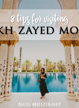 8 Tips For Visiting Sheikh Zayed Mosque, Abu Dhabi