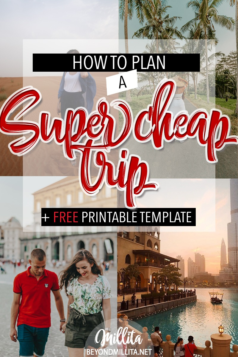 plan cheap trip